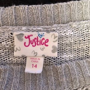 Justice Shirts & Tops - Justice Sweater